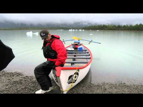Mendenhall Lake and Glacier Canoe Adventure, Juneau Alaska 05-23-2012