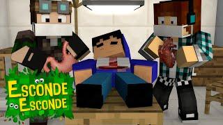 Minecraft: PAC VAI FAZER CIRURGIA?! (Esconde-Esconde)