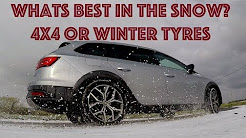 Winter tyres vs 4x4. Can a 2 wheel drive on winter tyres match all wheel drive?