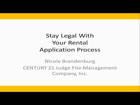 MetroTex Association of REALTORS: Stay Legal with Your Rental Application Process