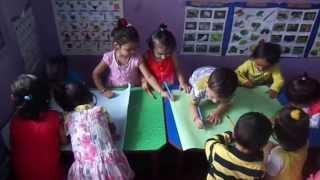 Happy Kids Montessori School: Free Writing Exercise (Pre Writing Skills)