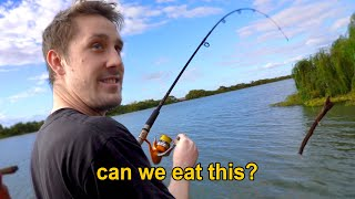 fishing but it's scuffed