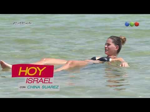 Programa 03 con China Suárez en Israel - Por el mundo 2017