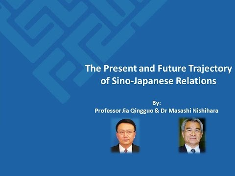 The Present and Future Trajectory of Sino-Japanese Relations