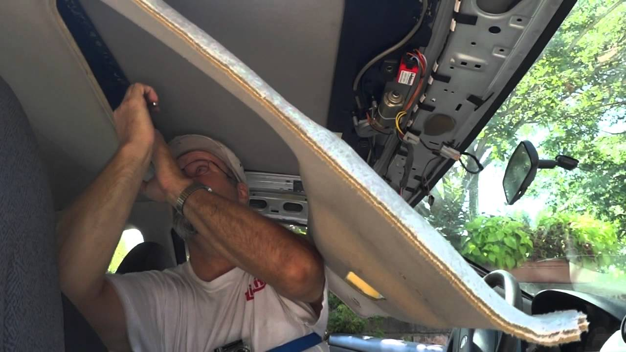 Cougar Sunroof removal and install  YouTube