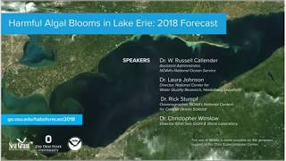 Lake Erie HABs Forecast 2018