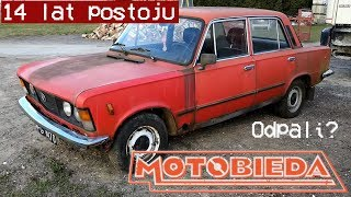 Fiat 125p za 400zł. Odpalenie po 14 latach postoju - MotoBieda