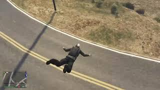 GTA V Parachute Landing of a Lifetime