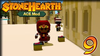 Bigger Better Buildings! – StoneHearth 1.1 + ACE Gameplay – Let's Play Part 9