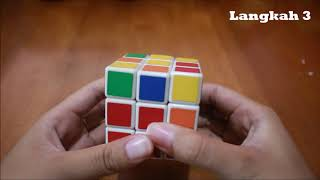 HOW TO SOLVE A RUBIC'S CUBE 3X3 WITHOUT FORMULA FOR BEGINNERS