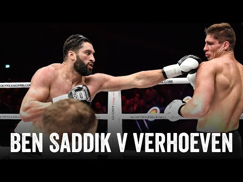 GLORY Redemption: Rico Verhoeven vs. Jamal Ben Saddik (Heavy