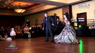 Gaby Hernandez 15 años baile con papá