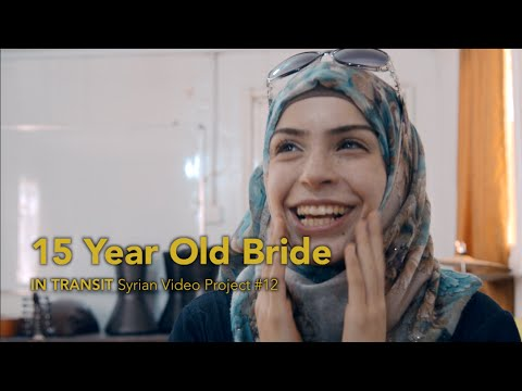 15 Year Old Bride talks Marriage, War, and Education