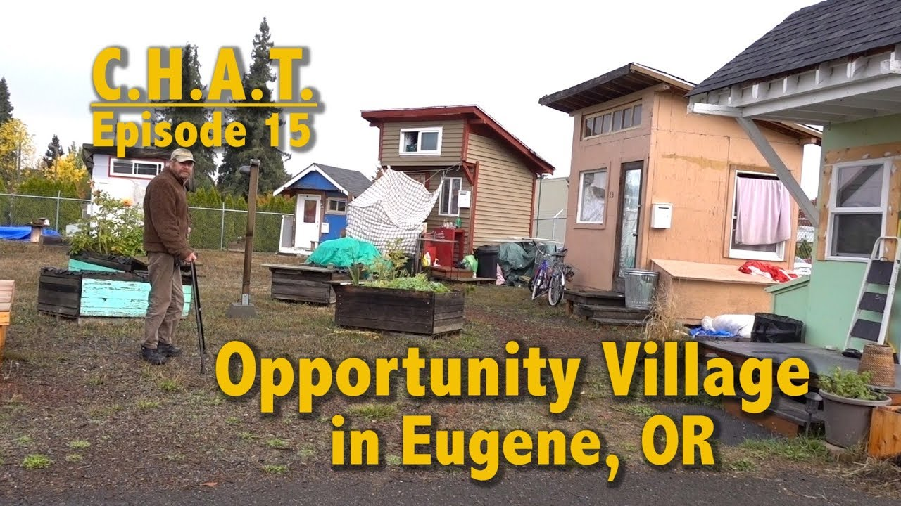 Opportunity Village Tiny Houses As Homeless Shelters In
