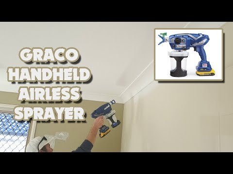 How to Paint FAST with a Graco Ultra Handheld Airless Spray Gun