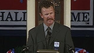 Robin Yount delivers Hall of Fame induction speech