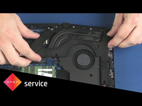 Remove and Replace the Left Support Bracket   OMEN by HP 17-an0xx   HP