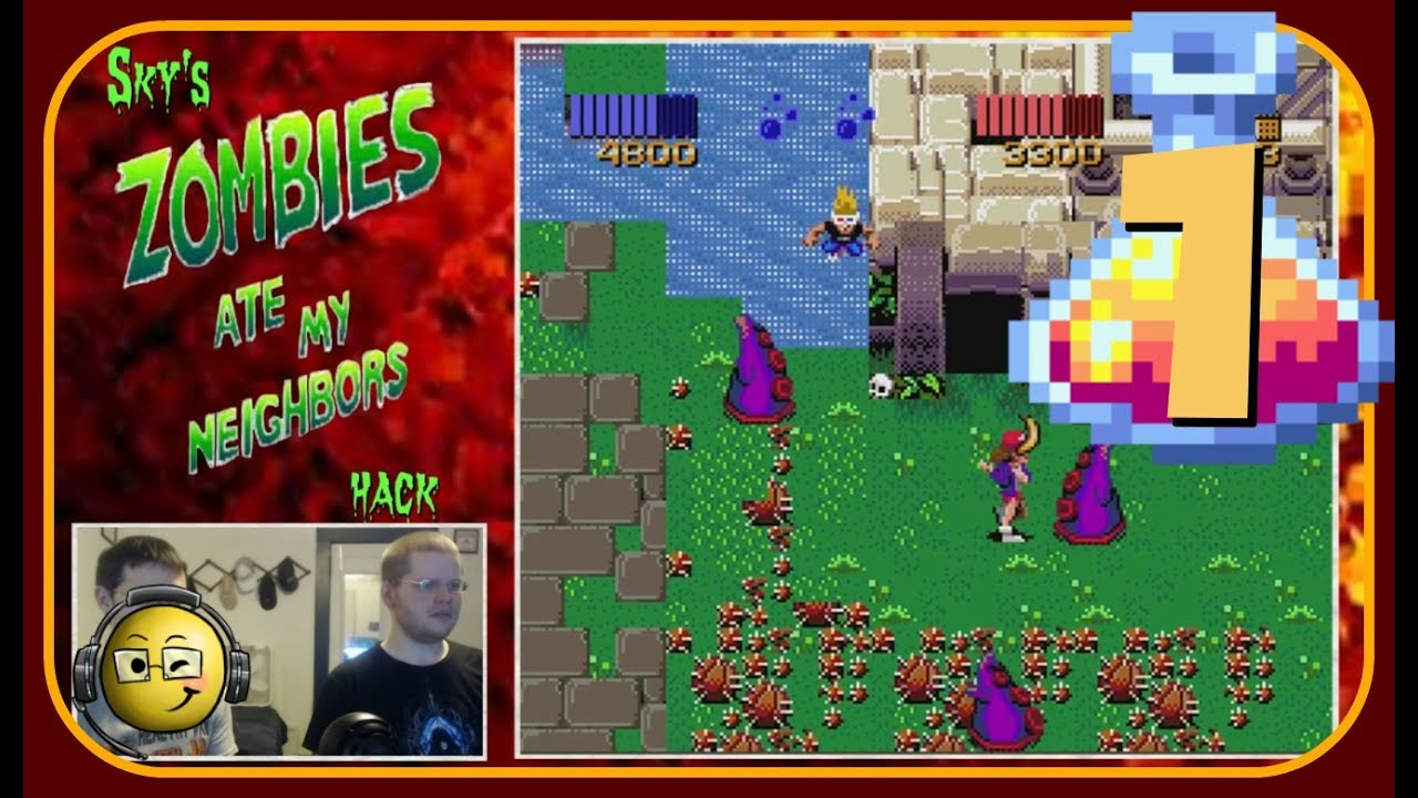 Let's Co-op Play Sky's Zombies Ate My Neighbors Hack (with Joseph K) Part 1 - YouTube