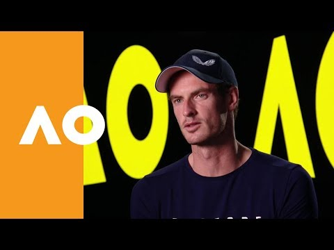 Andy Murray - full one on one after his surprise press conference | Australian Open 2019