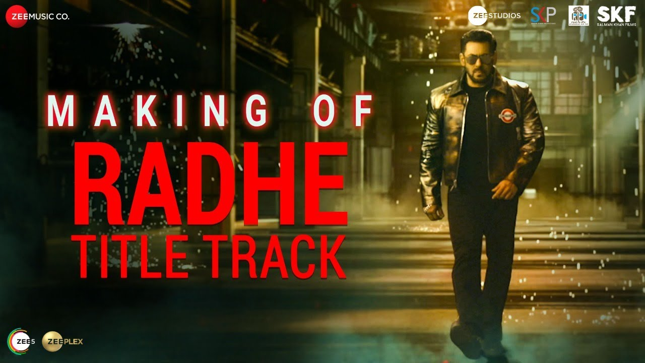 Radhe Title Track - Making | Radhe - Your Most Wanted Bhai | Salman Khan, Disha Patani | Sajid Wajid