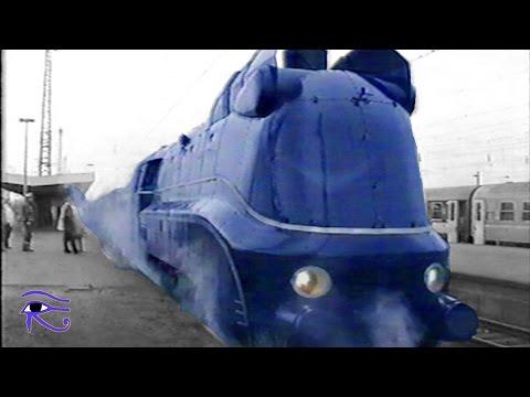Dampflokomotive Baureihe 01 1102 - Blaues Wunder in Hamm 1996