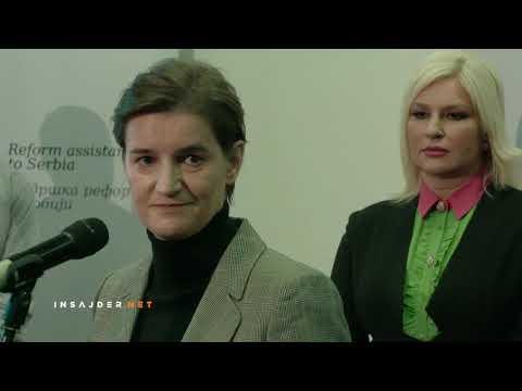 Brnabić i Mihajlović o rušenju nelegalnog objekta na Pančićevom vrhu