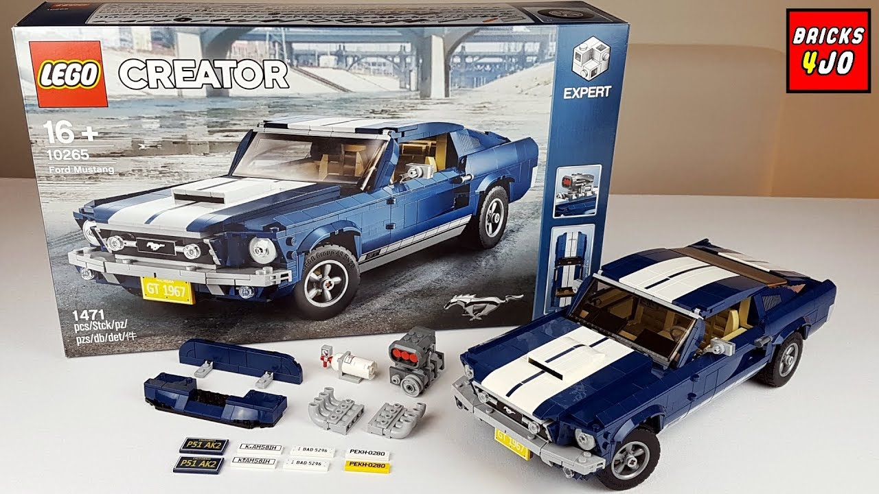 Lego 10265 Ford Mustang Gt 1967 Creator Expert Review Deutsch