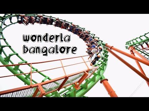 Wonderla Bangalore Amusement Park Tour | Drone Shots | All Rides | Exploring Bangalore
