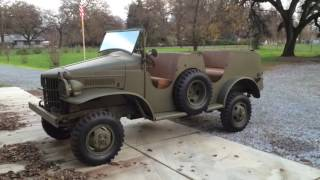 1941 Dodge WC16 Command Car Test Drive
