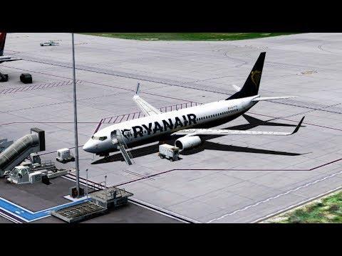 Lublin Świdnik to Dublin - Boeing 737-800 NGX Ryanair