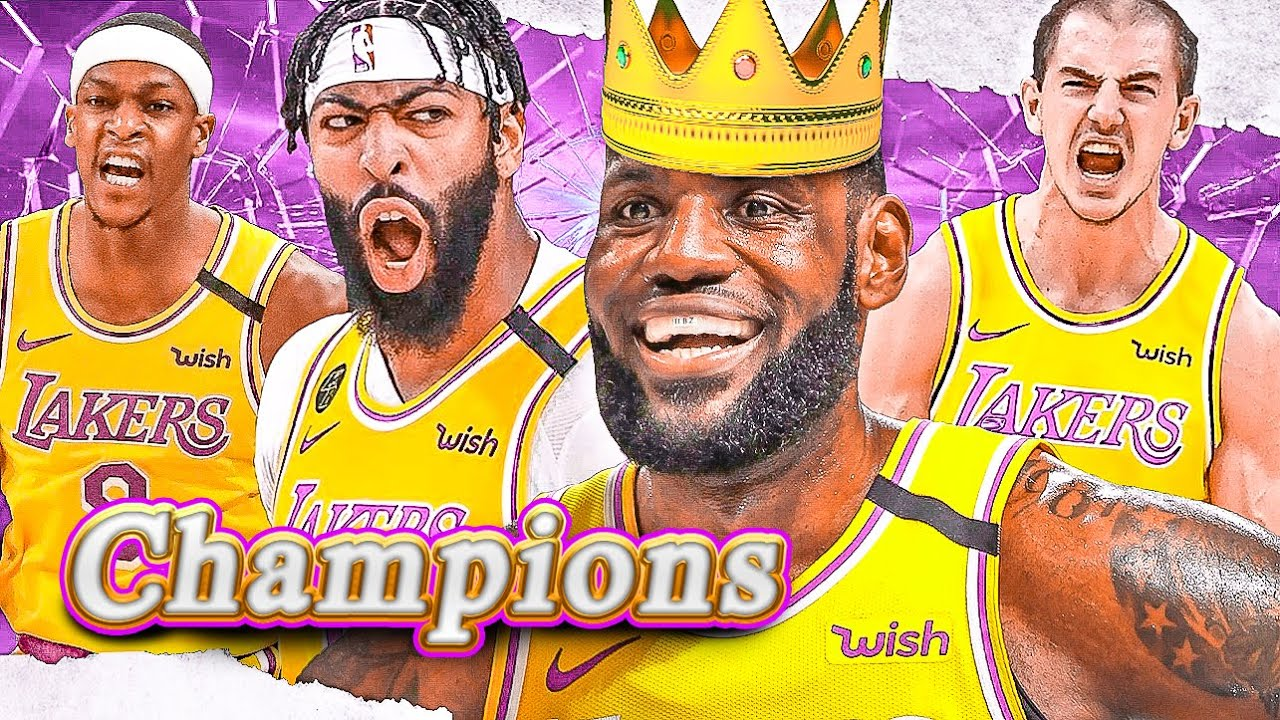 The OFFICIAL LA Lakers Championship Highlight Reel of 2020 !