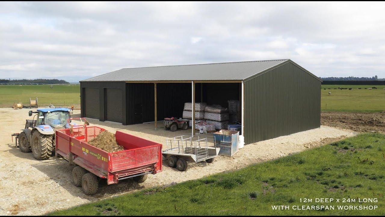 Farm Workshop Construction Timelapse By Alpine Buildings