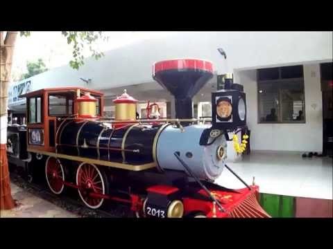 Joy train in Kamati Baug, Vadodara, Gujarat