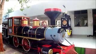 Joy train in Kamati Baug, Vadodara, Gujarat