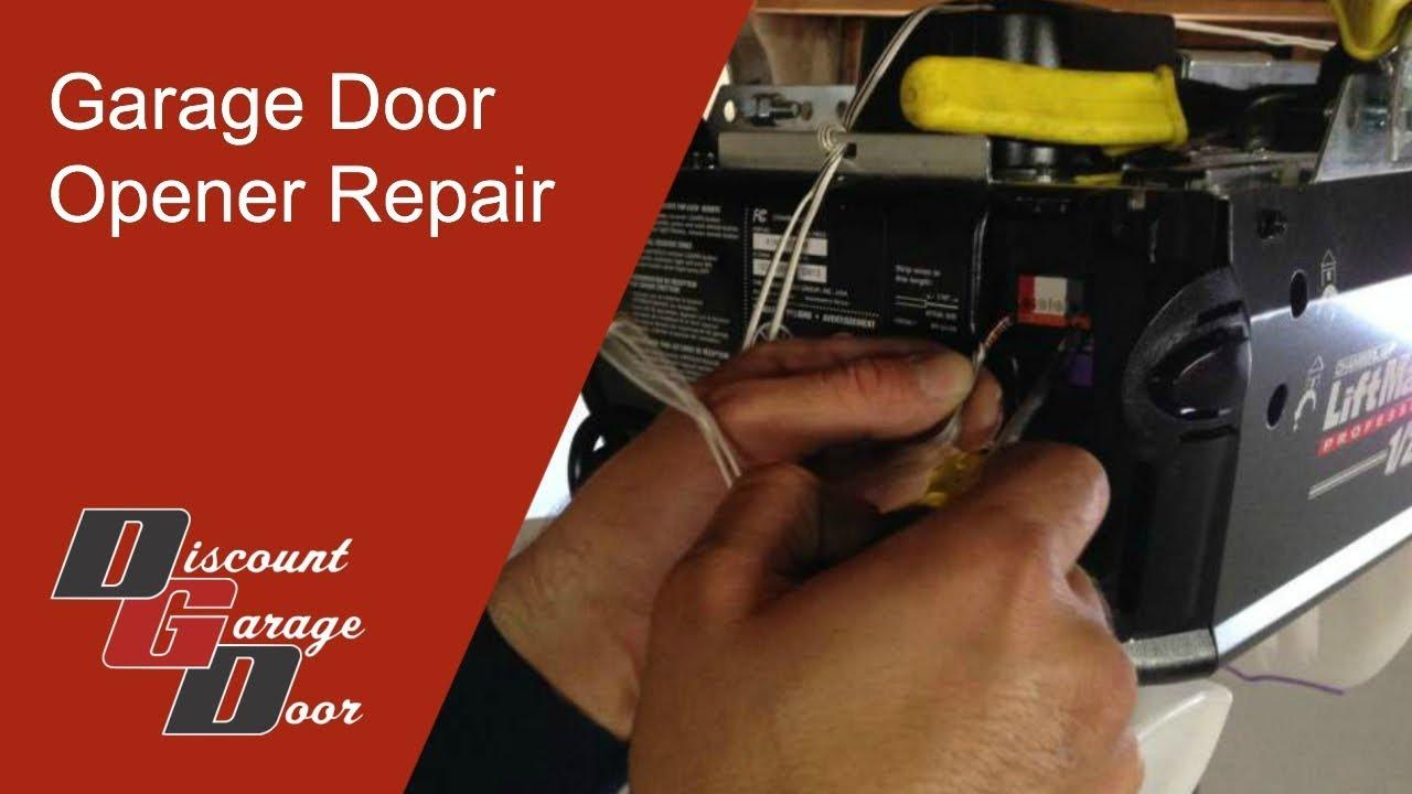 Garage Door Opener Repair Broken Arrow 918 234 Door Youtube