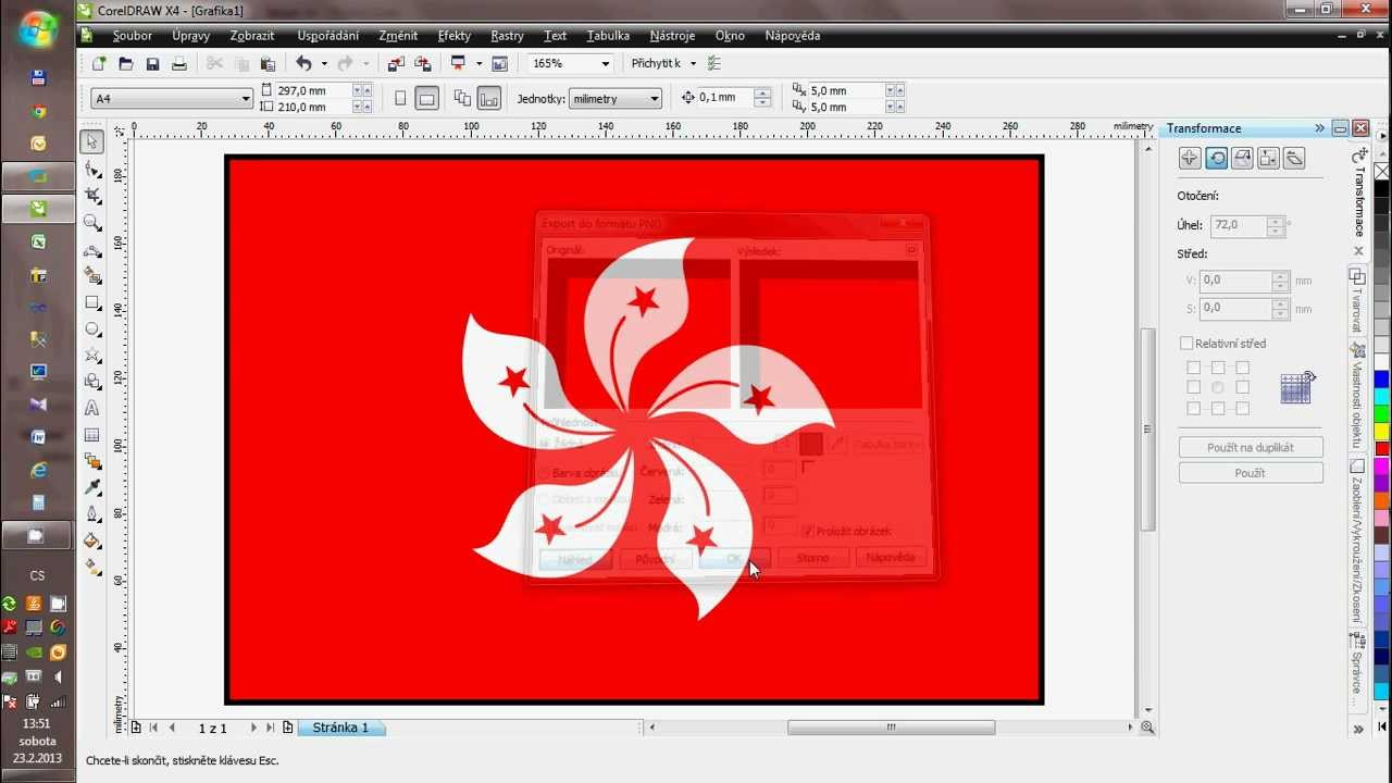 tutorial for corel draw hongkong flag czech comment youtube