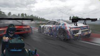 Рубилово в онлайне в GT3! - Project CARS 2