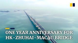 Underused Hong Kong-Zhuhai-Macau Bridge marks one-year anniversary