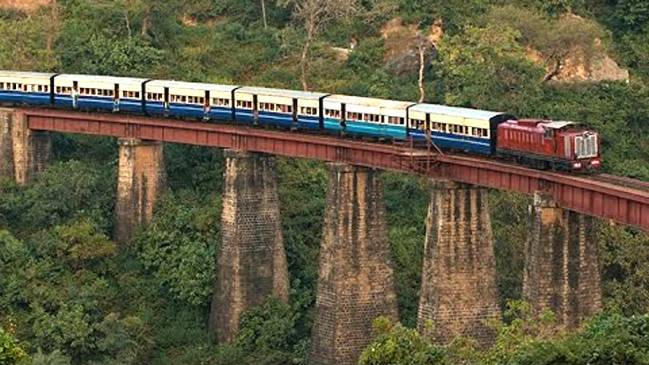 hill trains of india neral matheran toy train journey
