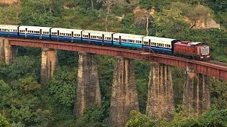 Hill trains of India - Neral Matheran Toy Train Journey Compilation.