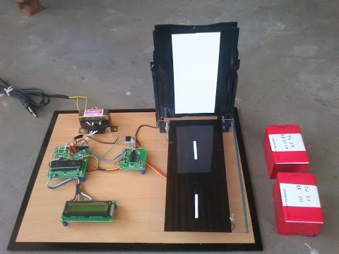 RFID based Automatic Toll Gate System Project