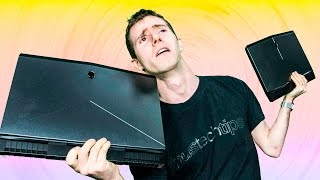 Is Bigger WORSE? - Alienware 15 Gaming Review