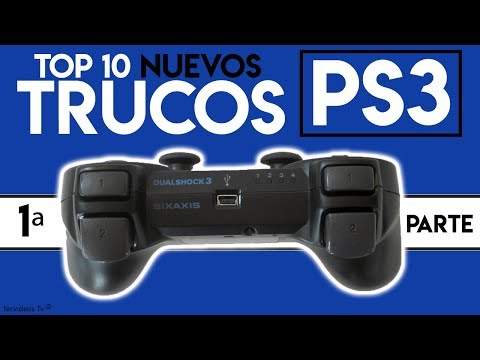 Nuevos Trucos y Tips de Ps3 y Dualshock 3 | TOP 9 Trucos Ocultos de PlayStation 3