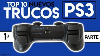 Nuevos Trucos + Tips de Ps3 y Dualshock 3 | TOP 9 Trucos Ocultos de PlayStation 3