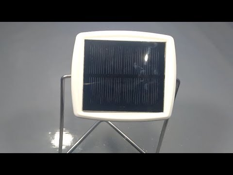 how to make 100% free solar energy light at home _ new science project 2019