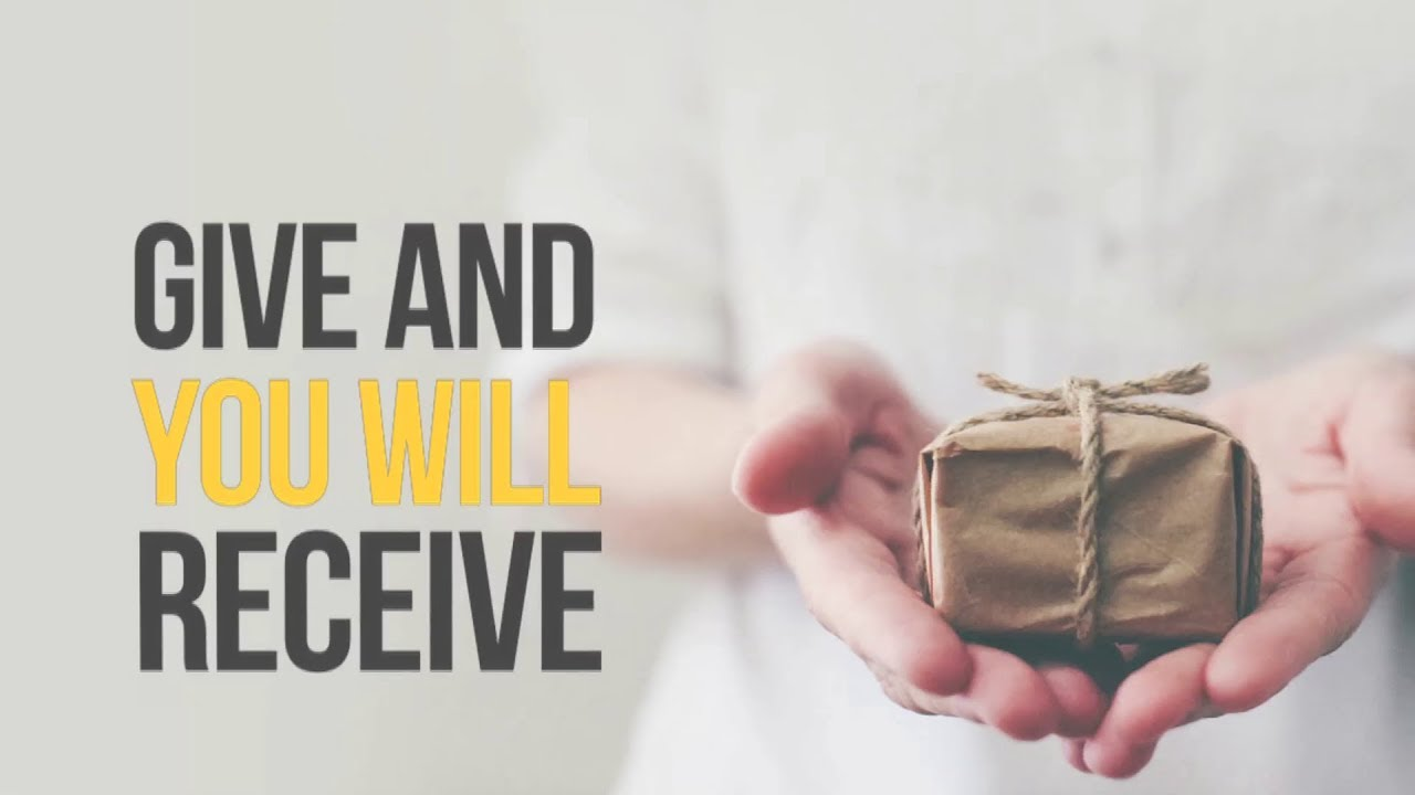 Give & You Shall Receive | Dr. Paul Dhinakaran