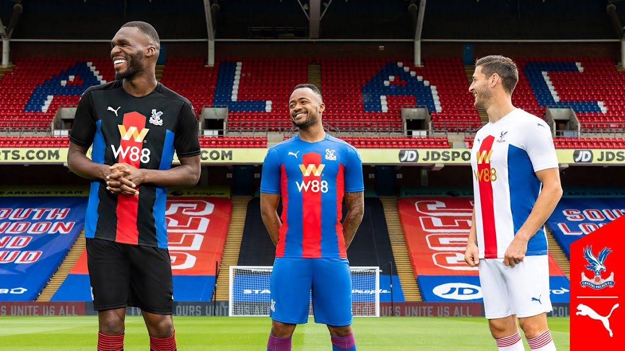 Crystal Palace 20-21 Home, Away & Third Kits Released - New Main ...