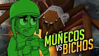 200 MUÑECOS VS 1000 HORMIGAS !! - Home Wars | iTownGamePlay