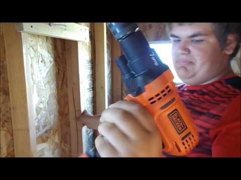 hyper tough 4 8 volt cordless screwdriver vs black and decker 9 amp drill driver youtube. Black Bedroom Furniture Sets. Home Design Ideas