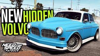 HIDDEN VOLVO AMAZON P130 LOCATION & CUSTOMIZATION | Need for Speed Payback (Speedcross DLC Gameplay)